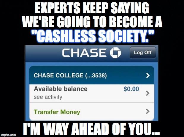 declassified cashless